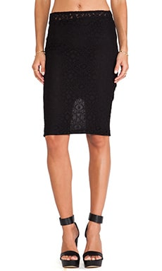 Boulee Monica Skirt in Black Lace