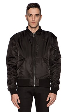 Reversible MA1 Bomber in Black