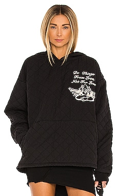 For Love Quilt Hoodie Boys Lie $220 NEW