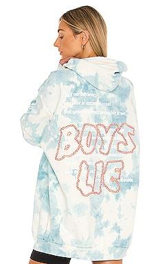 Twofer Remix Hoodie Boys Lie $260 NEW