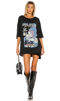 T-SHIRT ANGEL PSYCHIC Boys Lie $85 NOUVEAU