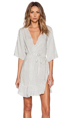 BOYS + ARROWS The Gin & Tonic Robe in Bandit