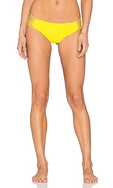 BOYS + ARROWS Shifty Sherman Bikini Bottom in Sunshine