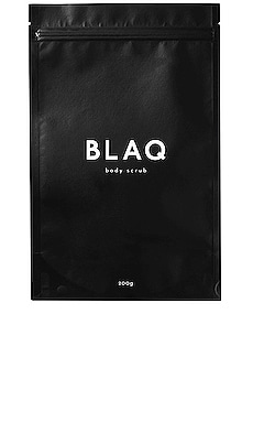 EXFOLIANT CORPS ACTIVATED CHARCOAL BLAQ $17