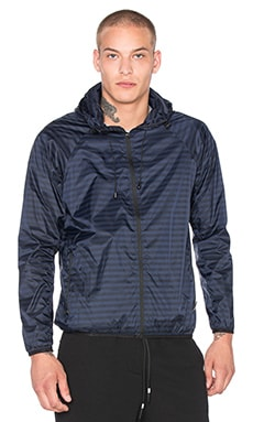 Brandblack Italian Windbreaker Zip in Navy