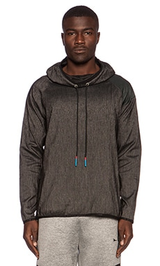 Brandblack Sith Hood Jacket in Charcoal Black