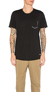 Tech Reflective Chest Pocket Tee