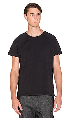 Brandblack Slub Tee in Black