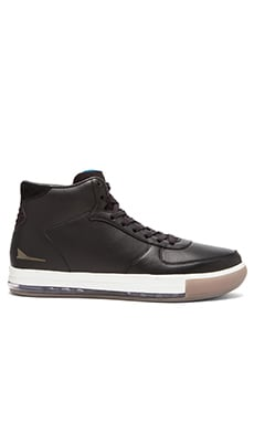Brandblack JET Mid/ Air Bag Lace Up in Black White