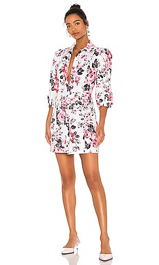 Floral Mini Dress BROGNANO $530 NEW