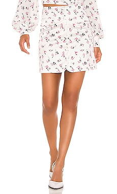 Floral Mini Skirt BROGNANO $87