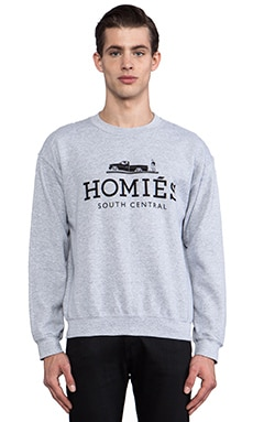 Brian Lichtenberg Homies Sweatshirt in Heather Grey/Black