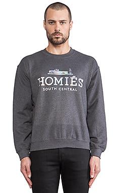Brian Lichtenberg Homies Sweatshirt in Charcoal/Hologram