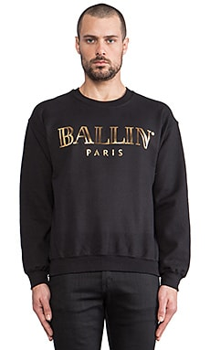 Brian Lichtenberg Sweat Ballin en Noir/Or Brillant