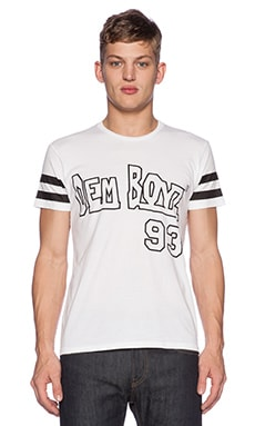 Brian Lichtenberg Dem Boyz Tee in White & Black