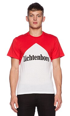 Brian Lichtenberg Lichtenboro Tee in Red & White
