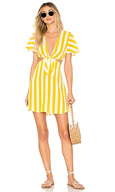 x REVOLVE Charlotte Dress BEACH RIOT $78
