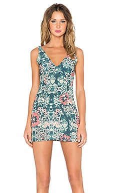 BEACH RIOT Costa Chica Dress in Azul