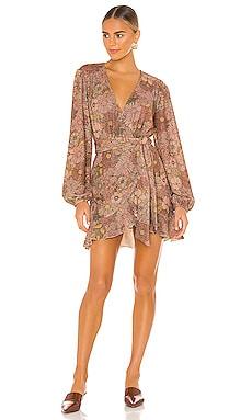 Lotus Wrap Dress BEACH RIOT $107
