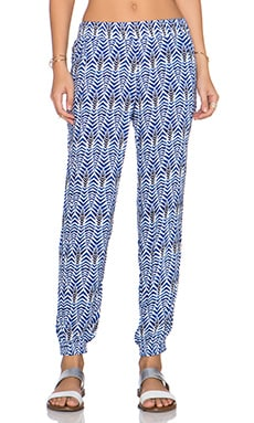 BEACH RIOT Hacienda Lounge Pant in Azul