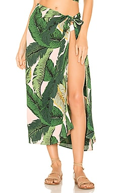 TUNIQUE DE PLAGE PALM BEACH RIOT $60