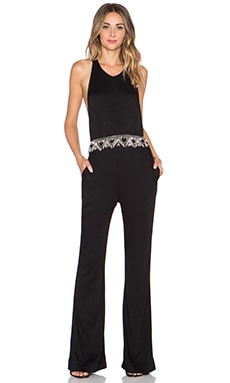 BEACH RIOT Chulo Jumpsuit in Black