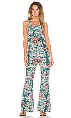 BEACH RIOT Costa Chica Jumpsuit in Azul