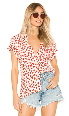 x REVOLVE Sailor Top BEACH RIOT $38