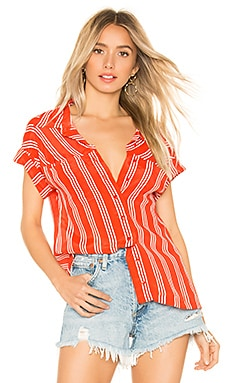x REVOLVE Sailor Top BEACH RIOT $37