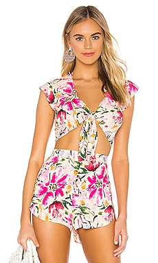 Gia Blouse BEACH RIOT $65 NEW ARRIVAL