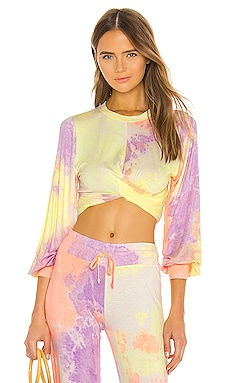 TOP CROPPED MARLEY BEACH RIOT $88 BEST SELLER
