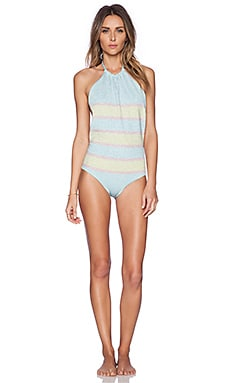 BEACH RIOT The Shine Bright Swimsuit in Gltizy