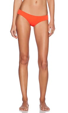 BEACH RIOT Oasis Bikini Bottom in Liza Red