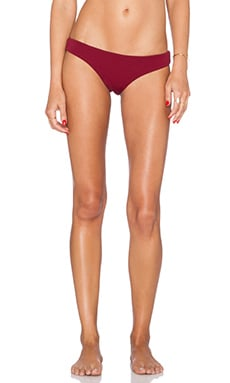 BEACH RIOT Sandy Bikini Bottom in Crimson