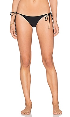 BEACH RIOT Ink Bikini Bottom in Black