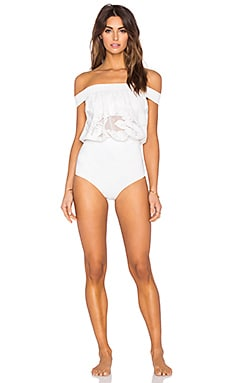 BEACH RIOT Sunset Swimsuit in Sun Moon