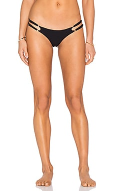 BEACH RIOT x Stone Cold Fox Mia Bottom in Black Texture