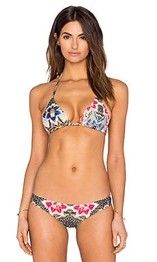 BEACH RIOT Wildflower Bikini Top in Le Fleur