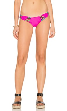 BEACH RIOT Fuego Bikini Bottom in Pinata