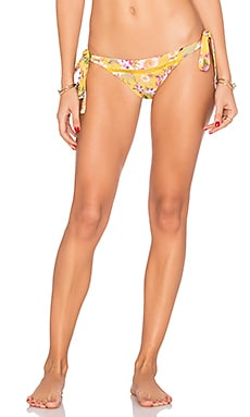 Aloha Bikini Bottom in Golden Tropic