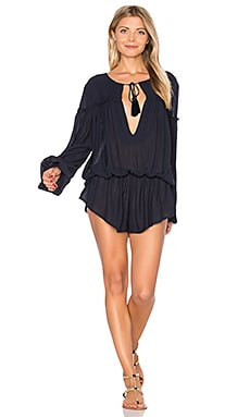 Aquarius Romper in Navy