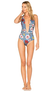 X REVOLVE Lex One Piece in Floral