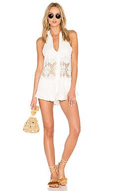 Barcelona Romper in All White