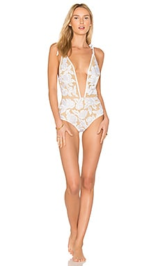 St Lucia One Piece in White