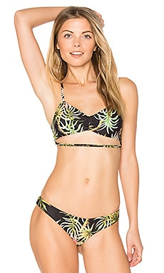 Hibiscus Bikini Top