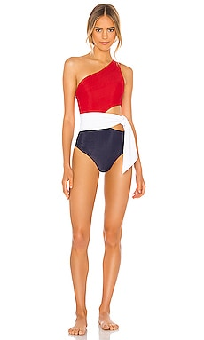 Carlie One Piece BEACH RIOT $148 NEW