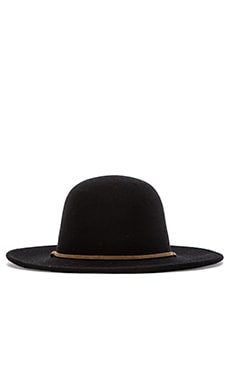 Brixton Tiller Wide Brim Hat in Black