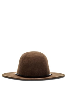 Brixton Tiller Top Hat in Light Olive