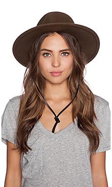 Brixton Tiller Top Hat in Light Olive