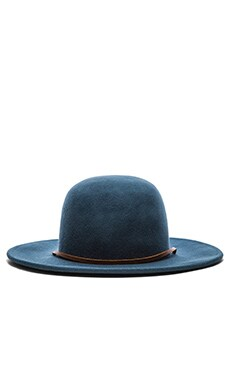 Brixton Tiller Hat in Slate Blue
